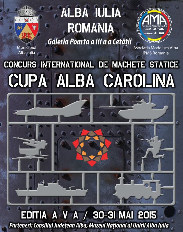 Concurs international de Machete Statice Cupa Alba Carolina - 2015.