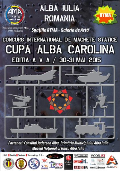 Concurs international de Machete Statice Cupa Alba Carolina - 2015